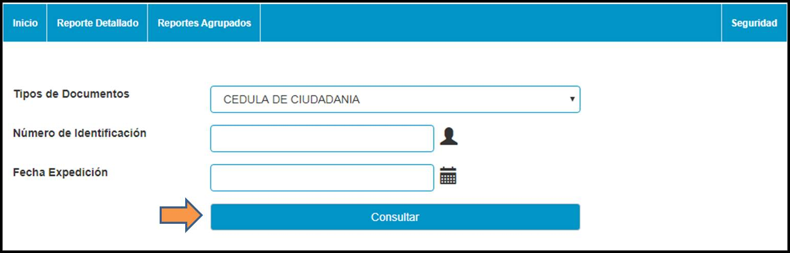 Consultar por cédula de ciudadanía