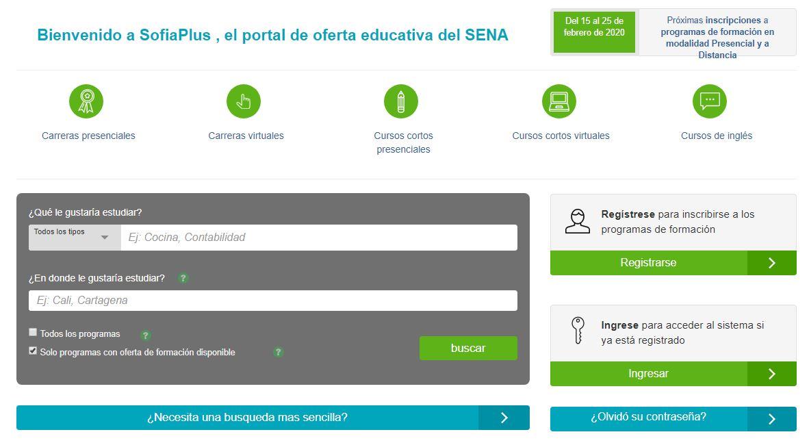 Web Sena Sofía Plus