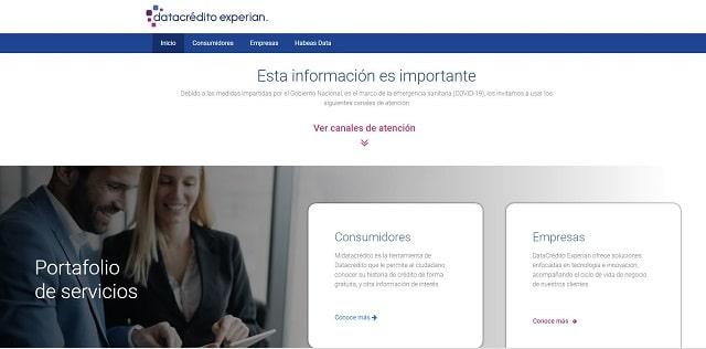 Web Datacrédito